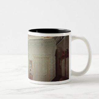 James Gibbs Drawing room from Henrietta Place Two-Tone Coffee Mug