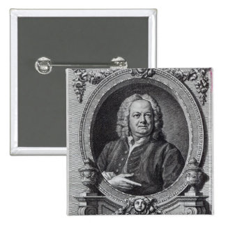 James Gibbs, engraved by Bernard Baron, 1747 15 Cm Square Badge