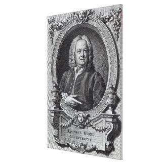 James Gibbs, engraved by Bernard Baron, 1747 Gallery Wrap Canvas