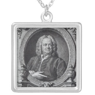 James Gibbs, engraved by Bernard Baron, 1747 Silver Plated Necklace