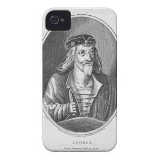 James I (1394-1437), King of Scotland, from Johnst iPhone 4 Cases