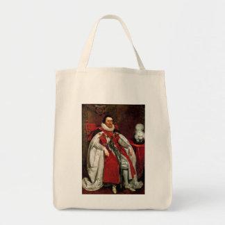 James I by Daniel Mytens