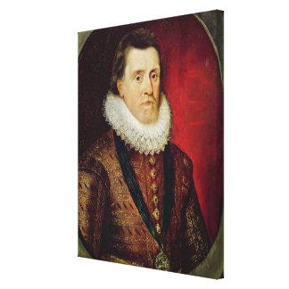 James I Canvas Print