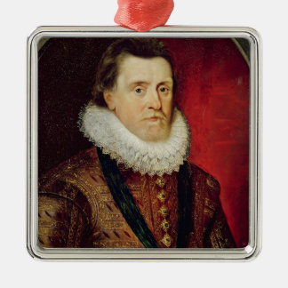 James I Christmas Ornament