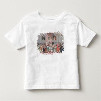 James II (1633-1701) Receiving the Mathematical Sc Toddler T-Shirt