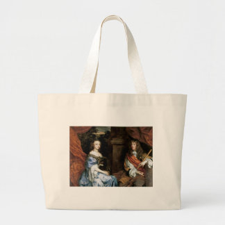 James II and Anne Hyde by Sir Peter Lely Jumbo Tote Bag