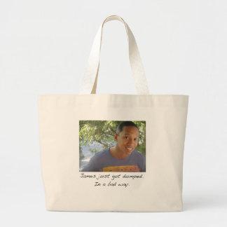 James Jumbo Tote Bag