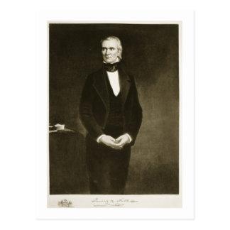 James K. Polk (1795-1849), 11th President of the U Postcard