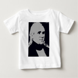 James K. Polk silhouette Baby T-Shirt