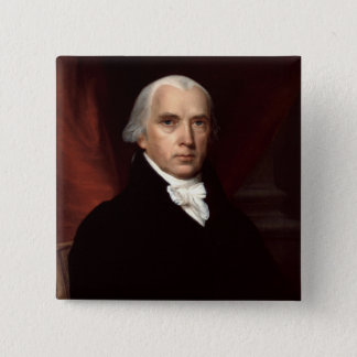 James Madison 15 Cm Square Badge