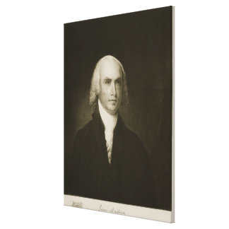 James Madison, 4th President of the United States Canvas Print