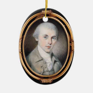 James Madison Ceramic Oval Decoration