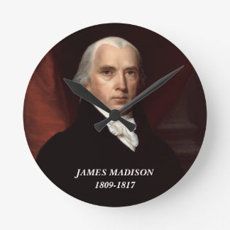 James Madison clock