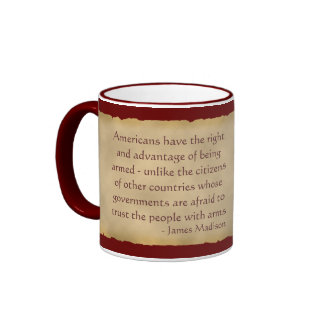 James Madison Coffee Mug