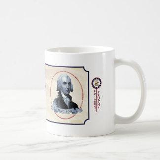 James Madison - Madison 5 Classic White Coffee Mug