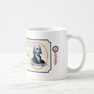 James Madison - Madison 6 Basic White Mug