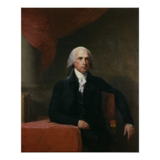 James Madison Poster