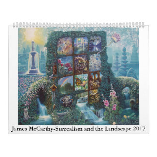 James McCarthy-Surrealism and the Landscape 2017 Calendar