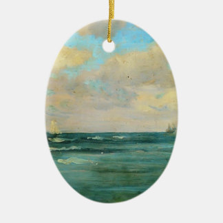 James McNeill Whistler- Bathing Posts Christmas Tree Ornaments