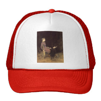 James McNeill Whistler- Black and Red Mesh Hats