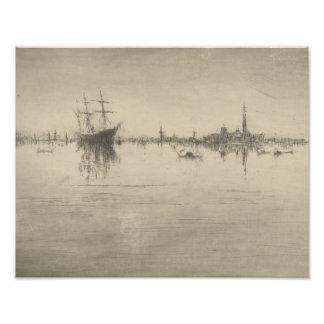 James McNeill Whistler - Nocturne Art Photo