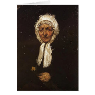 James McNeill Whistler- Old Mother Gerard Cards