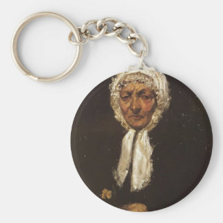 James McNeill Whistler- Old Mother Gerard Keychains