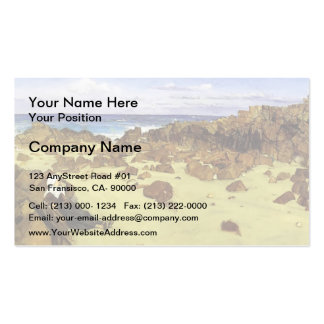 James McNeill Whistler- The Coast of Brittany Business Card Templates