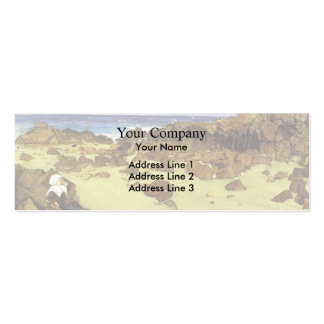 James McNeill Whistler- The Coast of Brittany Pack Of Skinny Business Cards