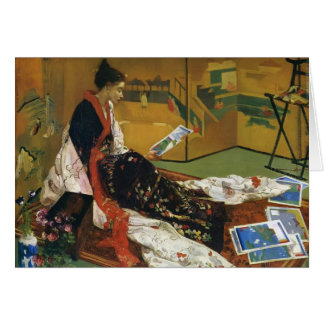 James McNeill Whistler- The Golden Screen Greeting Card