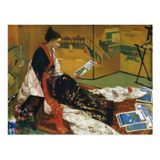 James McNeill Whistler- The Golden Screen Post Cards