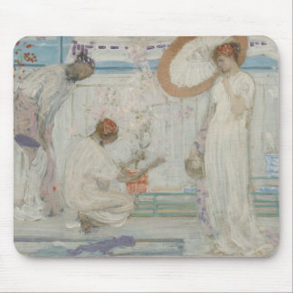 James McNeill Whistler - The White Symphony Mouse Pad