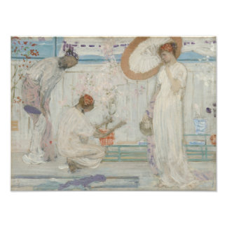 James McNeill Whistler - The White Symphony Photograph