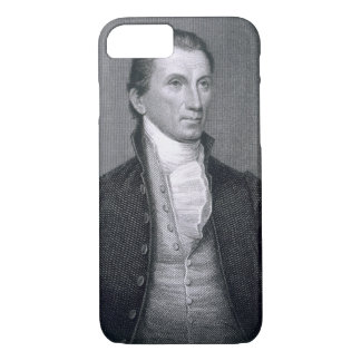 James Monroe, engraved by Asher Brown Durand (1796 iPhone 8/7 Case