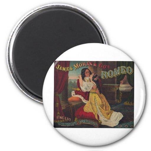James Moran & Co's Romeo Chewing Tobacco Refrigerator Magnet