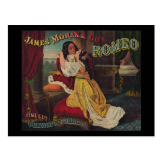 James Moran & Co's Romeo Chewing Tobacco Post Cards