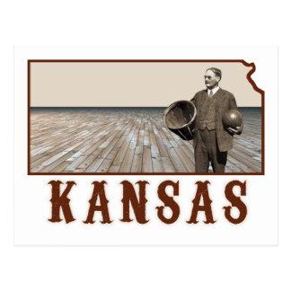James Naismith Basketball Postcards