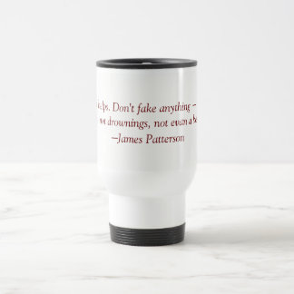 JAMES PATERSON MUG