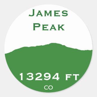 James Peak Sticker