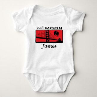 James Red Moon Baby Bodysuit