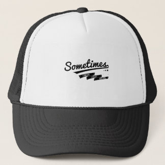 James - Sometimes Lyrics Retro Inspired Trucker Hat
