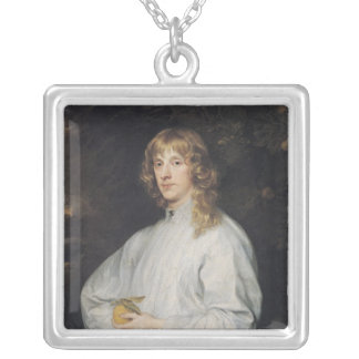 James Stuart  Duke of Richmond and Lennox Silver Plated Necklace