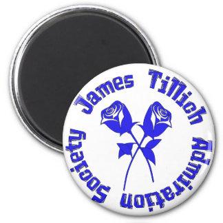 James Tillich Admiration Society 6 Cm Round Magnet