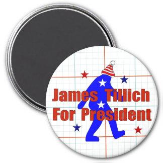 James Tillich For President 7.5 Cm Round Magnet