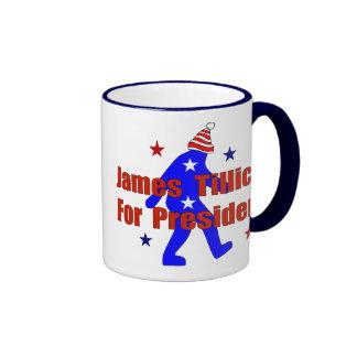 James Tillich For President Ringer Mug