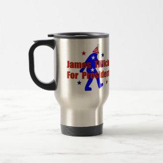 James Tillich For President Stainless Steel Travel Mug