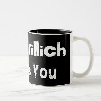 James Tillich Loves You Two-Tone Mug