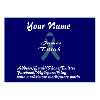 James Tillich Ribbon Pack Of Chubby Business Cards
