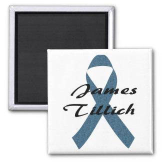 James Tillich Ribbon Refrigerator Magnet