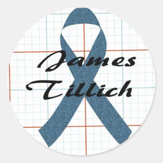 James Tillich Ribbon Sticker